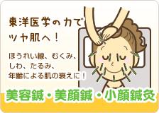 美容鍼・カッサ・小顔整体